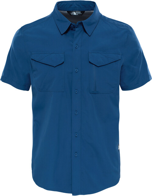 The North Face M's Sequoia S/S Shirt Shady Blå